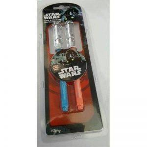 Star Wars Sabre laser–brillent dans le noir Lot de stylos de la marque GGS image 0 produit