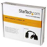 StarTech.COM Convertisseur HDMI vers DisplayPort - Adaptateur HDMI vers DP alimenté par USB - M/F - Ultra HD 4K - Noir de la marque StarTech.com image 4 produit