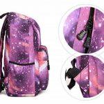 """Stormiay Galaxy Sac à dos école mignon pour les filles Daypack Casual avec ordinateur portable Compartiment Fit 15 """"Laptop de la marque Stormiay image 3 produit"""