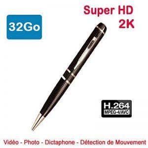Stylo Caméra Espion 2K 2304 x 1296 H264 32Go Super HD appareil photo Dictaphone PEN-2304-32 de la marque Cyber Express Electronics image 0 produit