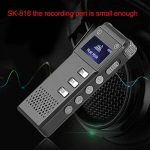 Stylo d'enregistrement Rechargeable SK-818 avec enregistreur Vocal numérique de la mémoire 8G Dictaphone Stylo enregistreur de Lecteur MP3 de la marque Redstrong image 2 produit