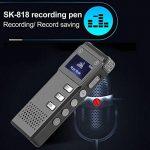Stylo d'enregistrement Rechargeable SK-818 avec enregistreur Vocal numérique de la mémoire 8G Dictaphone Stylo enregistreur de Lecteur MP3 de la marque Redstrong image 4 produit