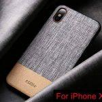 SUNREEK iPhone X étui, Premium PC Portables Cuir PU Double Couche Coque iPhone X de la marque SUNREEK image 1 produit