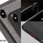 SUNREEK iPhone X étui, Premium PC Portables Cuir PU Double Couche Coque iPhone X de la marque SUNREEK image 4 produit