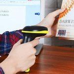 Surenhap 2-in-1 Lecteur de Code-Barres Bluetooth Scanner Laser sans Fil douchette USB sans Fil Portable avec Ipad Iphone Android Tablet PC Compatible avec Windows Mac Os Android iOS de la marque Surenhap image 1 produit