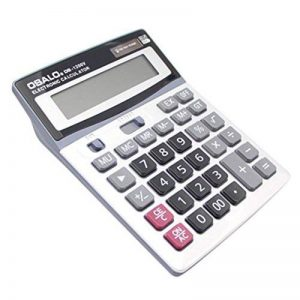 Swiftswan 1200V 12 Chiffres Calculatrice électronique Big Button Calculatrice de Puissance Double de la marque Swiftswan image 0 produit