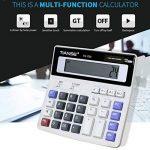 Swiftswan Calculatrice électronique Multifonction Pas Besoin de Batterie Alimentation Solaire 12 Affichage numérique Business Accounting Daily Life de la marque Swiftswan image 2 produit