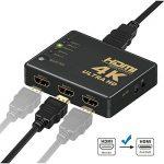 Switch HDMI, GANA HDMI Splitter | Sélecteur HDMI 5 Entrées 1 Sortie 1080P 3D Adaptateur HDMI Splitter HDMI Commutateur avec Télécommande IR pour PS3 Xbox 360 Lecteur DVD HDTV Projecteur Camcorder HTPC Tablette de la marque GANA image 2 produit
