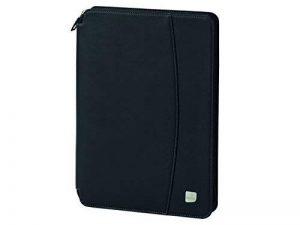 SWIZA Convaso Zippered Leatherette Folio avec calculatrice intégrée - Noir de la marque SWIZA image 0 produit
