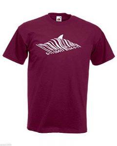 T-shirt Hommes avec Bansky Street Art Conception De Graffiti / Code À Barres Shark t-shirt / Pêcher En Vertu De Code à barres t-shirt + Gratuit Au Hasard Cadeau Décalque de la marque AnOL image 0 produit