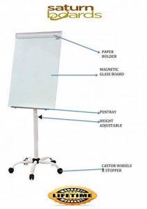 Tableau magnétique Paperboard inscriptible Housse de Spider étoile Base A3Clip de la marque Saturn-Boards image 0 produit