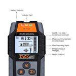 Tacklife Dms03Multi-wall détecteur de grande scanner de rétroéclairage LCD pour magnétique/NON magnétique en métal, AC Wire, bois Finder profond avec détection de la marque Tacklife image 1 produit