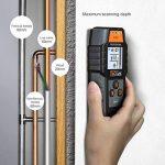 Tacklife Dms03Multi-wall détecteur de grande scanner de rétroéclairage LCD pour magnétique/NON magnétique en métal, AC Wire, bois Finder profond avec détection de la marque Tacklife image 3 produit