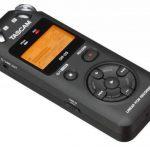 TASCAM DR-05 V2 Enregistreur portable stéréo PCM/MP3, tenant dans la main, haute qualité, Noir de la marque Tascam image 1 produit