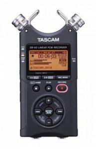 Tascam DR-40 – Enregistreur 4 pistes portable de la marque Tascam image 0 produit