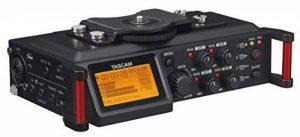 Tascam DR-70D – Enregistreur audio 4 pistes pour appareils reflex numériques (DSLR) de la marque Tascam image 0 produit