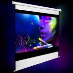 """TecTake Écran de projection 110"""" 203x203 cm home cinéma vidéo projecteur 16:9 4:3 HD TV de la marque TecTake image 1 produit"""