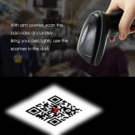 TEEMI 2D QR Wireless Bluetooth Barcode Scanner with USB Cradle Receiver Charging Base Handheld Data Matrix PDF417 Image Reader Portable Automatic Bar Code Scanning for Retail Supermaket Warehouse de la marque TEEMI image 4 produit