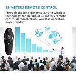 Télécommande Presenter USB Wireless sans fil Presenter PowerPoint Télécommande Laser Pointeur PPT de la marque flower205 image 4 produit
