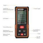 Télémètre laser numérique 60M Meterk Sauvegarder les données Avec la livraison de la batterie MK60 Mini-télémètre portable de la marque Meterk image 1 produit