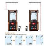 Télémètre laser numérique 60M Meterk Sauvegarder les données Avec la livraison de la batterie MK60 Mini-télémètre portable de la marque Meterk image 3 produit