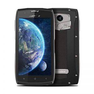 Telephone Portable Etanche, 4G Blackview BV7000 Smartphone Antichoc(Écran : 5.0' FHD - 16 Go - Android 7.0 - Double SIM - 3500 mAh Batterie - Appareil Photo 8MP - Empreinte Digitale),Smartphone Incassable et Antipoussière, Gris de la marque Blackview image 0 produit