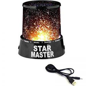 Temps de Soldes® projecteur étoiles lampe de table Veilleuse pour enfant Ciel étoilé de la marque Tempo di Saldi® image 0 produit