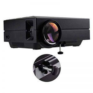 Tera GM60 Projecteur TFT LCD 1080P 1000 Lumens multimédia (Musique, photo, vidéo, TXT) avec télécommande pour VGA, HDMI, USB, casque, AV, SD, téléphone portable, iPad, DVD, VCD, TV box, etc. de la marque Tera image 0 produit