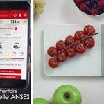 Terraillon Balance de Cuisine Connectée Apports Énergétiques Tare Conversions Liquides Minuteur Bluetooth 5 kg NutriTab Noir de la marque Terraillon image 4 produit