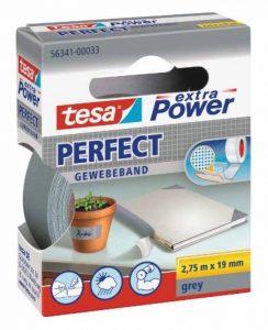 Tesa 56341-00033-03 3936807 Ruban toile Gris de la marque Tesa image 0 produit