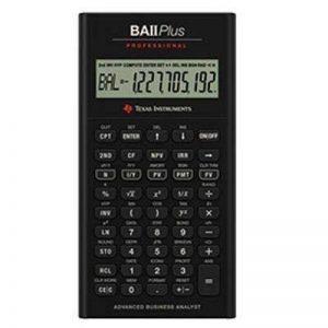 Texas Instruments BA II PLUS Calculatrice financière avancée professionnelle de la marque Texas Instruments image 0 produit