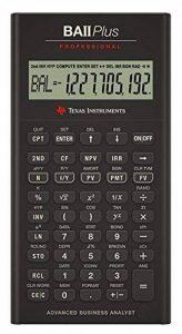 Texas Instruments BA II Plus Pro Calculatrice financière de la marque Texas Instruments image 0 produit