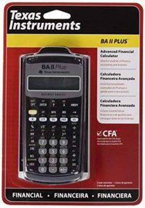 TEXAS INSTRUMENTS calculatrice financière TI-BA II Plus de la marque Texas Instruments image 0 produit