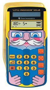 Texas Instruments LPROFSOLAR Little Professor Calculatrice solaire d'apprentissage de la marque Texas Instruments image 0 produit