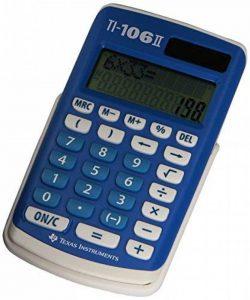 Texas Instruments TI 106 S Calculatrice 4 opérations pour classes primaires de la marque Texas-Instruments image 0 produit