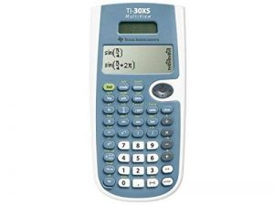 Texas Instruments TI-30XS MultiView Poche Calculatrice scientifique Bleu, Blanc calculatrice - Calculatrices (Poche, Calculatrice scientifique, 16 chiffres, 4 lignes, Batterie/Solaire, Bleu, Blanc) de la marque Texas Instruments image 0 produit