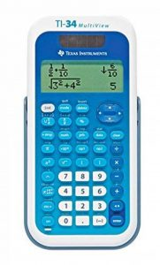 Texas Instruments TI 34XS Mulitview Calculatrice Scientifique de la marque Texas Instruments image 0 produit