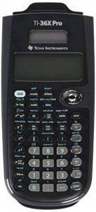 Texas Instruments TI-36X Pro Calculatrice scientifique Noir calculatrice - calculatrices (Calculatrice scientifique, 16 chiffres, 4 lignes, Solaire, Noir) de la marque Texas Instruments image 0 produit