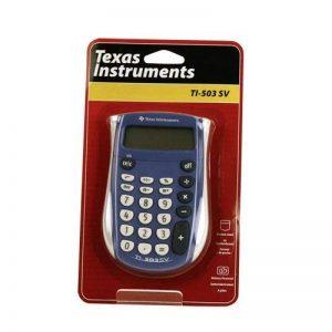 Texas Instruments TI 503SV Calculatrice 8 chiffres de la marque Texas Instruments image 0 produit
