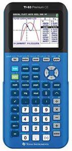 Texas Instruments TI-83 Premium CE BLEUE Calculatrice Graphique de la marque Texas-Instruments image 0 produit