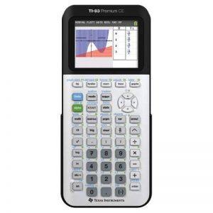 Texas Instruments TI-83 Premium CE Calculatrice scientifique Blanc/Noir de la marque Texas Instruments image 0 produit