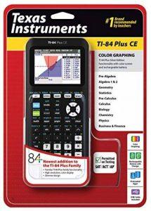 Texas Instruments TI-84 Plus Calculatrice graphique Marquage CE, noir de la marque Texas Instruments image 0 produit