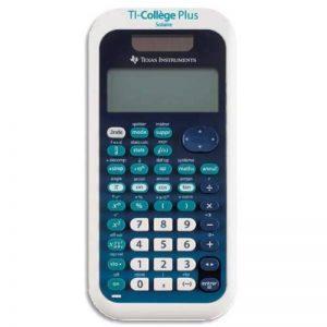 Texas Instruments TI-College Plus Calculatrice scientifique Bleu Clair de la marque Texas Instruments image 0 produit