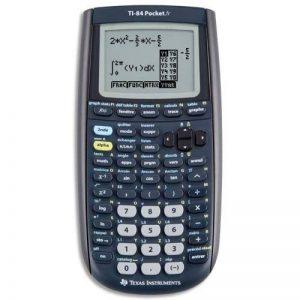 Texas Instruments TI84POCKET Calculatrice graphique Noir de la marque Texas Instruments image 0 produit