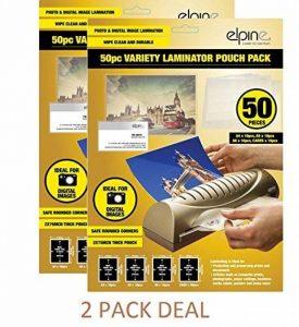 Texet Plastifieuse Pochettes Variété Pack (Pack de 50)... Lot de 2x de la marque Texet image 0 produit