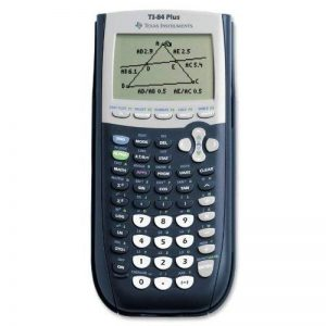 ti-84plus Calculatrice graphique programmable, écran LCD 10chiffres de la marque Texas Instruments image 0 produit
