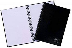Tiger Carnet de note à couverture rigide à spirales Format A5 de la marque Tiger image 0 produit