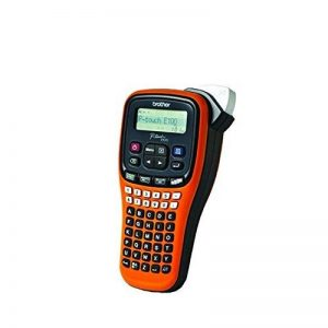Étiqueteuse manuelle Brother PT-E100à design ergonomique de la marque Brother image 0 produit