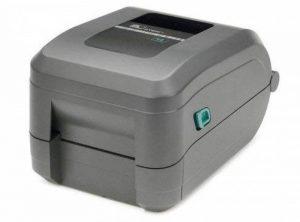 - Étiqueteuse transfert thermique-zebra gT800, 12 points/mm (300 dpi), vS, ePLII zPLII, multi-iF (ethernet), porte capteur inclus : câble d'alimentation de la marque POS-Cardsysteme image 0 produit