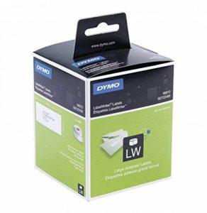 Étiquettes d'Adresse Autocollantes Dymo LabelWriter Grand Format, 36mm x 89mm, Rouleau de 260, Lot de2 (30321) de la marque DYMO image 0 produit